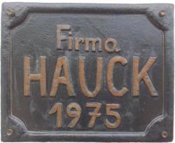 hauckschild